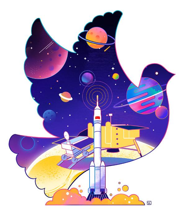 0930-04中国的太空探索向往和平,反对太空武器化.jpg