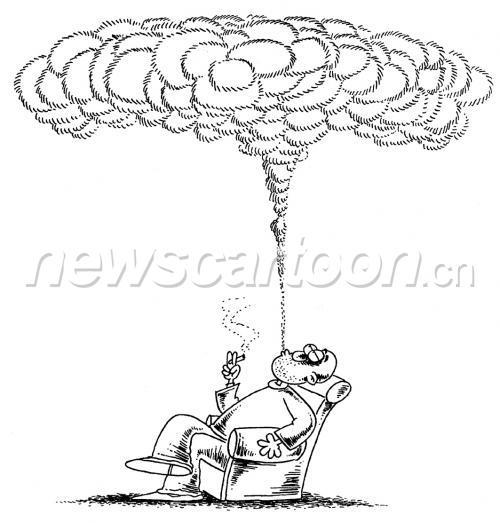 和平年代的蘑菇云