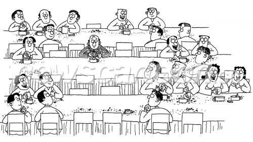 大口吃饭的卡通图片,一家人吃饭 卡通,卡通人物吃饭(第2页)_点力图库