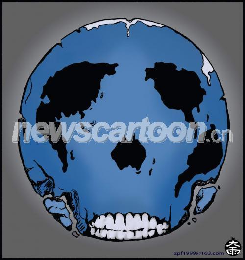 地球被破坏的设计图
