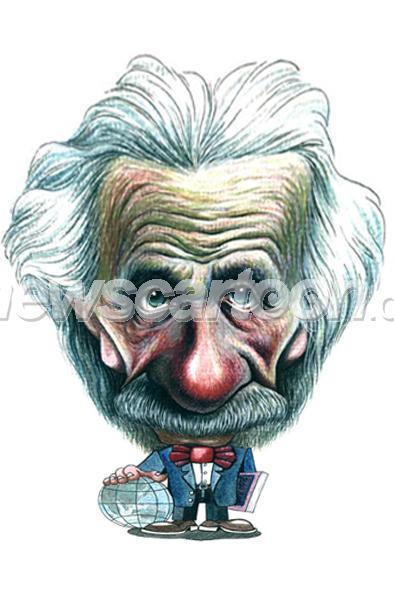 爱因斯坦人物简笔画