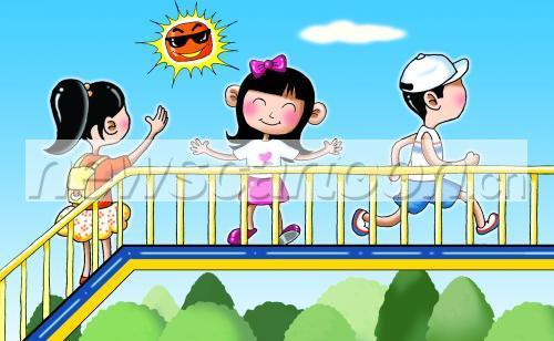 儿童文明交通漫画