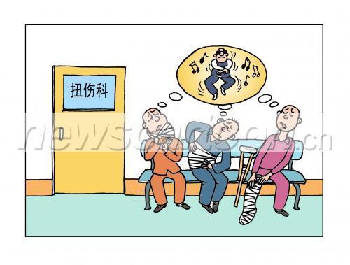人体关节卡通示意图